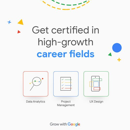 Google Career Certificate Scholarships 2021 for young Africans.