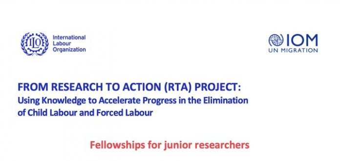 International Labour Organization (ILO) 2021 Fellowships and Seed Grants for Junior Researchers ($18,000 USD)