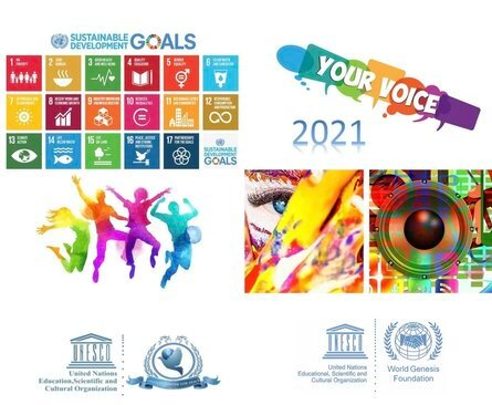 UNESCO Clubs 2021 Worldwide Youth Multimedia Competition for young people  around the world.
