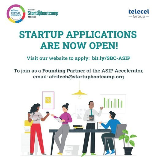 Africa Startup Initiative Programme (ASIP) 2021 for  African tech startups.