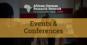Third Conference of the African-German Research Network – Zoom (Online) 2021