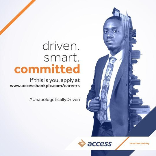 Access Bank Entry-Level Training Programme 2021 for young Nigerian graduates.