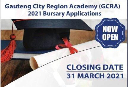 Gauteng City Region Academy (GCRA) 2021 Bursary Program for young South Africans.