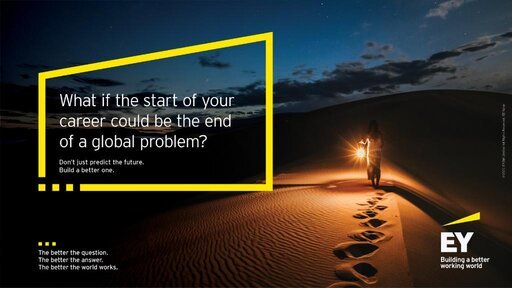 Ernst & Young (EY) 2021 Better Working World Data Challenge for university students and early career data scientists (US$10,000 in cash prizes)