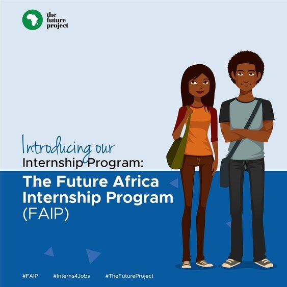 The Future Africa Internship Program 2021 for young Africans.