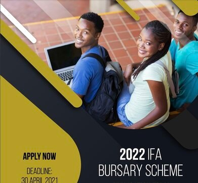 The Independent Field Advertiser (IFA) Bursary 2021/2022 for young South Africans.