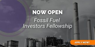 ClimateTracker Fossil Fuel Investors Fellowship 2021 for Reporters and Advocates
