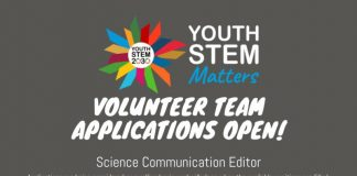 Apply to join the Youth STEM Matters Volunteer Team as Science Communication Editor