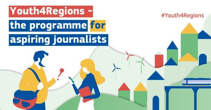 European Commission #Youth4Regions Programme 2021 for Aspiring Journalists (Fully Funded to Brussels, Belgium)