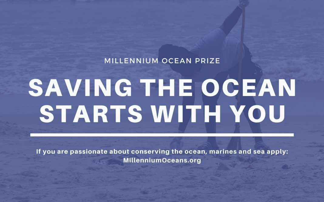 Millennium Oceans Prize 2021 for Youth Activists Promoting SDG 14 (Up to $5,000)