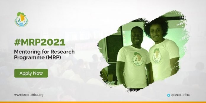 The International Support Network for African Development (ISNAD-Africa) Mentoring for Research Programme (MRP) 2021.