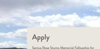 Thinkwell Institute Samya Rose Stumo Memorial Fellowship for Global Health.