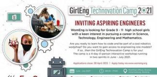 WomEng GirlEng Technovation Camp 2021 for high school girls.