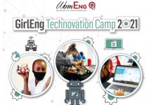 GirlEng Technovation Camp 2021 for Girls in STEM in South Africa