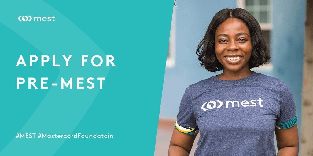 Meltwater Entrepreneurial School of Technology/Mastercard Foundation Pre-MEST – Startup Creation Program 2021 [Ghana Only]