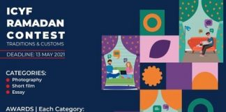 Islamic Cooperation Youth Forum (ICYF) Ramadan Contest 2021 for young Muslims worldwide.