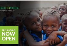 Teach For Nigeria Fellowship Program 2021 for Young Leaders (Stipend available)