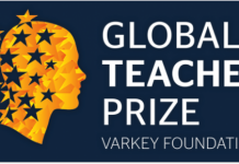 The Varkey Foundation Global Teacher Prize 2021 (US $1 million award) for Outstanding Teachers Worldwide.
