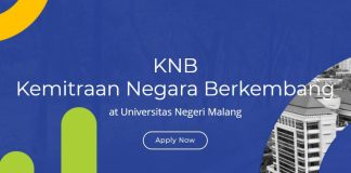 Kemitraan Negara Berkembang (KNB) Scholarship 2021 for International Students to Study in Indonesia