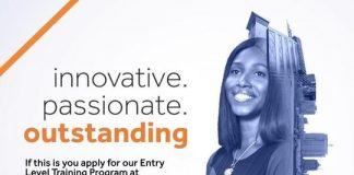 Access Bank Rwanda Entry Level Training Program 2021 for young Rwandans.