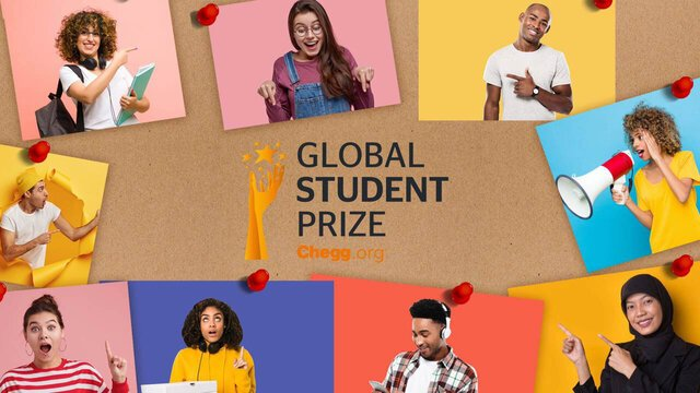 The Varkey Foundation/Chegg.org Global Student Prize 2021