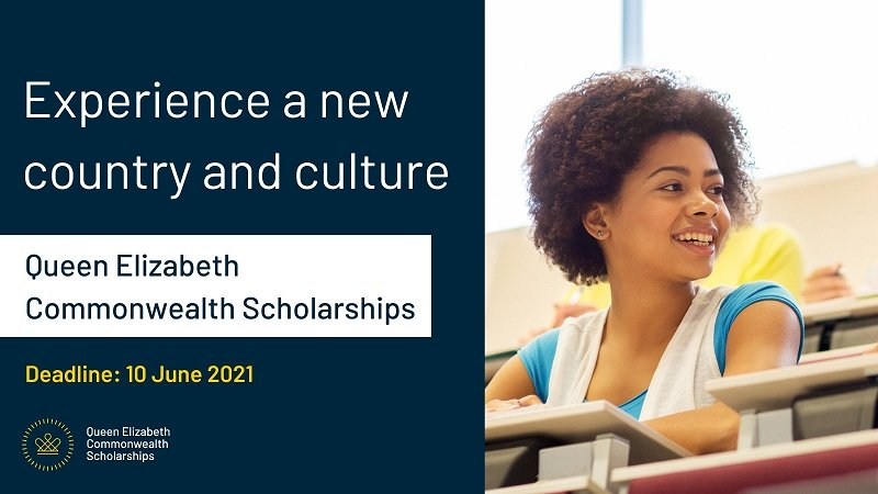 Queen Elizabeth Commonwealth Scholarships (QECS) 2021-2022 for Masters Study (Fully-funded)