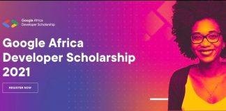 Google Africa Developer Scholarship (GADS) Program 2021 for young African Developers.