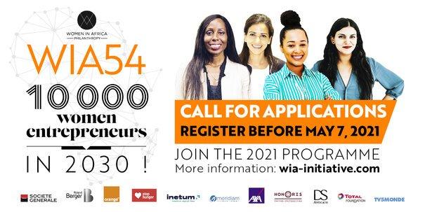 Women in Africa 54 (WIA54) Programme for Women Entrepreneurs 2021