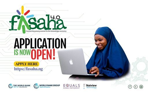 Fasaha 4.0 Digital Skills Development Programme for Girls and Young Women.