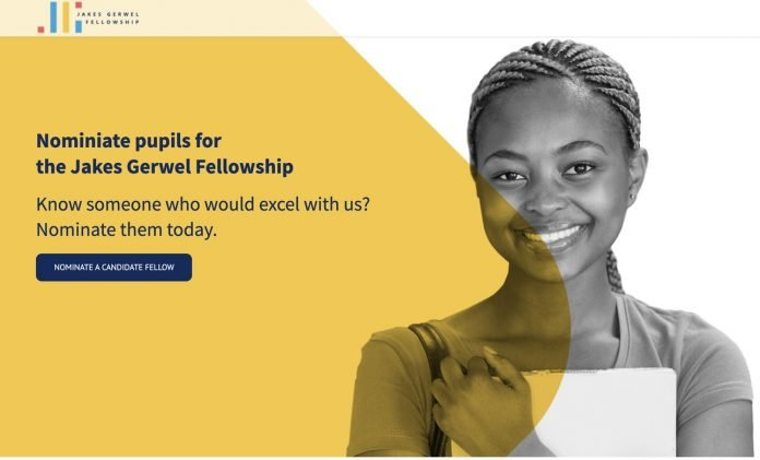 Jakes Gerwel Fellowship Programme 2021 for young South Africans
