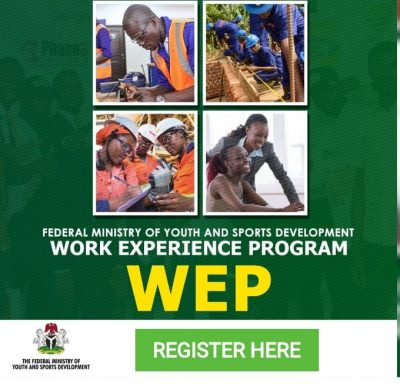 Federal Ministry of Youths and Sports Development in Nigeria Work Experience Program