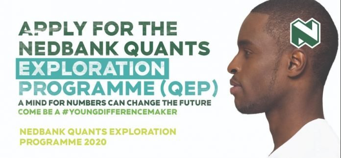 NedBank Quants Exploration Programme 2022 for young South African Undergraduate Students