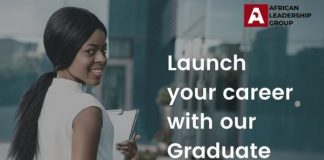 African Leadership Group Early Graduate Program 2021 for young African graduates.