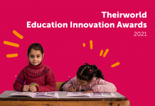 Theirworld Education Innovation Awards 2021 (£50,000 grant)
