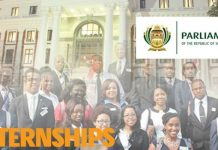 The Republic of South Africa Parliament Graduate Development Programme 2021 for South African Graduates