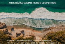 Africa@2050 Climate Fiction Writing Competition 2021 for African Writers. ( £1000 in cash prize)