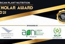 2021 African Plant Nutrition Graduate Student Scholar Award Program (USD $2,000)