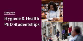 Reckitt-LSHTM PhD Studentships 2021/2022 on Hygiene & Health in Sub-Saharan Africa.