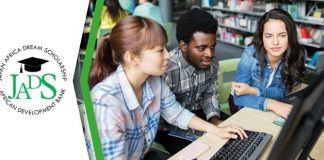 AfDB Japan Africa Dream Scholarship (JADS) Program 2021 for young Africans to study in Japan (Fully Funded)