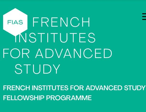 The French Institutes for Advanced Study Fellowship Programme 2022/2023 at the Paris IAS (2,700€ per month stipend)