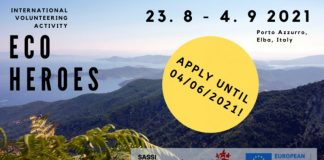 Call for Participants: International Volunteering Activity – Eco Heroes 2021 (Fully-funded)