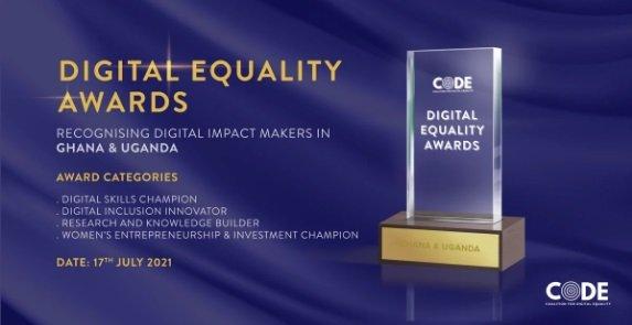 Coalition for Digital Equality (CODE) Digital Equality Awards 2021