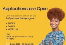 Lafyia Innovators Startup Incubation Program 2021 for early- to mid-stage startups.