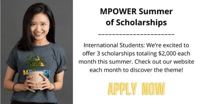 MPOWER Global Citizen Scholarship 2021 for International Students.