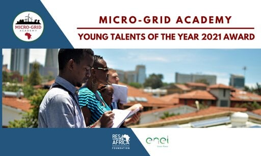 Micro-Grid Academy (MGA) Young Talent of the Year 2021 Award.