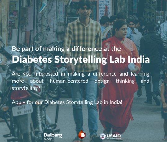 World Diabetes Foundation/Dalberg Indian Diabetes Storytelling Lab 2021 (Up to $25,000 USD)