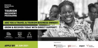 Enpact Tourism Recovery Programme 2021 for travel & tourism Entrepreneurs.