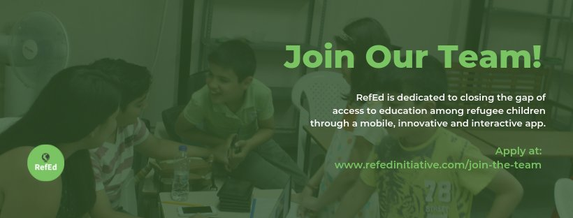 Join the RefEd Education Team as a Volunteer Educational Content Creator