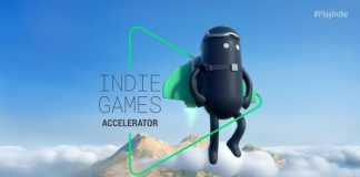 Google Indie Games Accelerator Program 2021 for indie game startups.