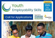 Enactus Ghana/Standard Chartered Youth Employability Skills Programme 2021
